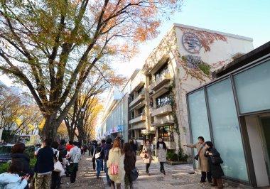 TOKYO - NOV 24: People shopping in Omotesando Hills, Tokyo, Japa