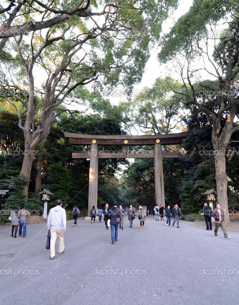 torii gate standing