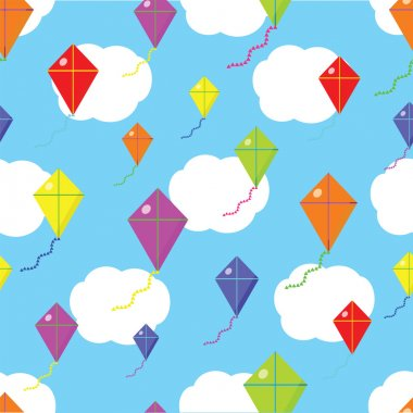 Kite seamless cloud texture