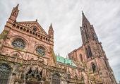 Strasburgo, Cattedrale di notre dame. Alsazia, Francia