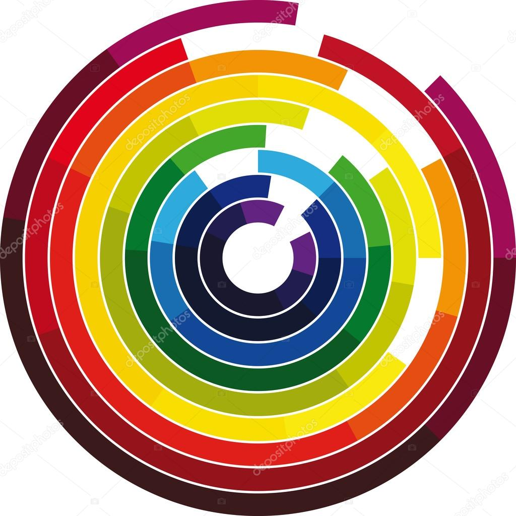 Color Wheel Stock Vector C Aroas 13689174