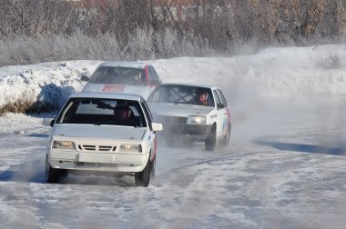 Car racing. Championship in Russia.