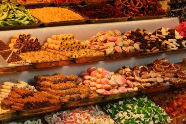 Display of Christmas Cookies