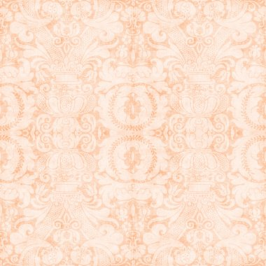 Vintage Light Peach Tapestry