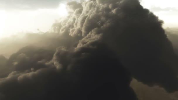 bouřlivá oblaka