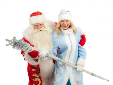 Santa Claus and Snow Maiden