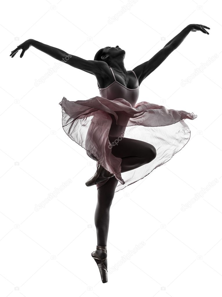 frau ballerina ballett t nzerin tanzen silhouette. Black Bedroom Furniture Sets. Home Design Ideas