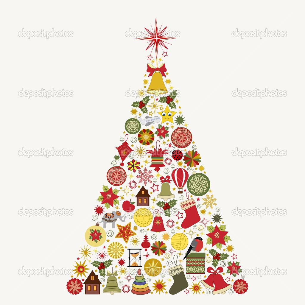 abstract christmas tree stock vector rodicabruma 32644751