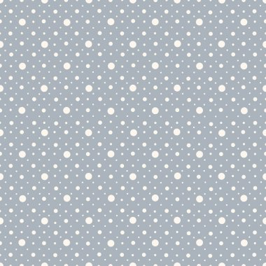 Abstract seamless polka dot pattern