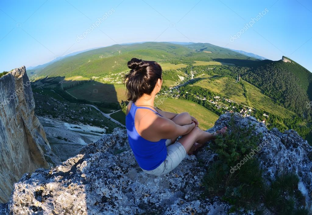 Relaxing in the mountains Crimea. Kachy-Kalion.