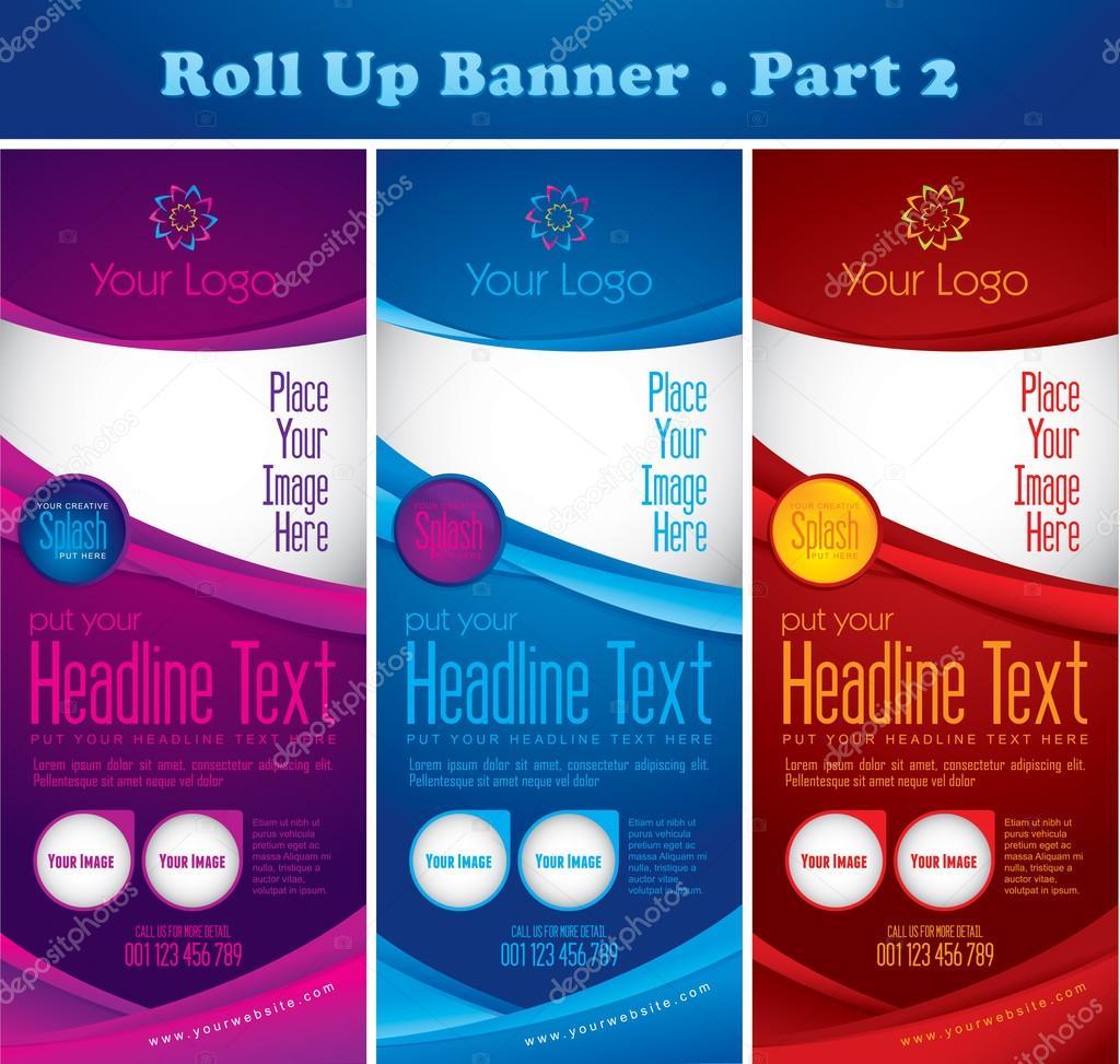 Multipurpose roll up banner