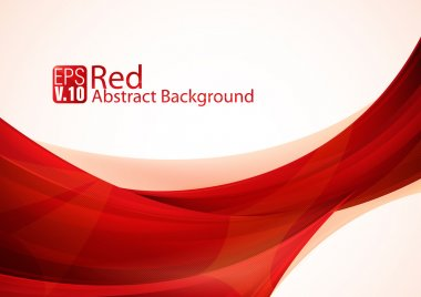 Red abstract background collection, suitable for your background or design element stock vector