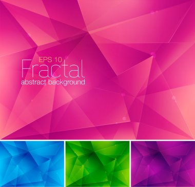 Fractal abstract background
