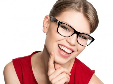Fashion woman in eyeglasses