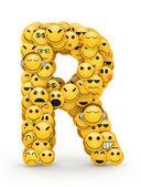 emotikony písmeno r