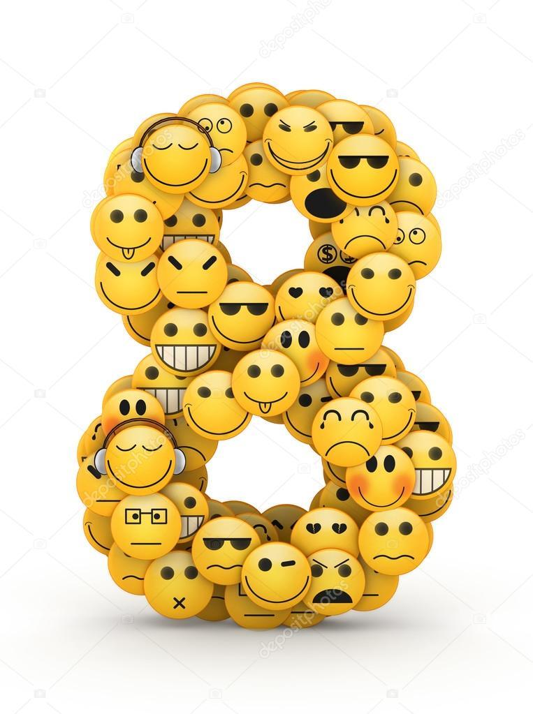 8 Smiley