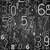Fotografia sfondo vettoriale da numeri