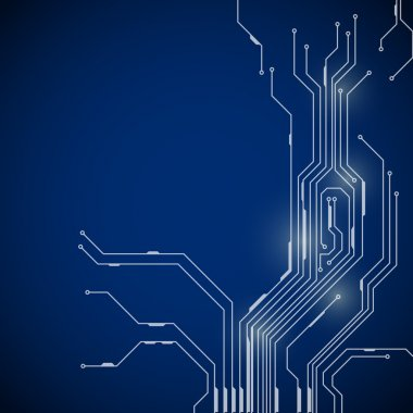 Abstract background of digital technologies