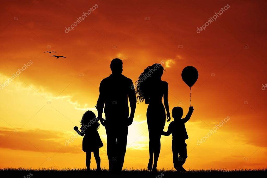 семья счастливая картинки