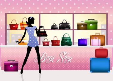 Shop of handbags