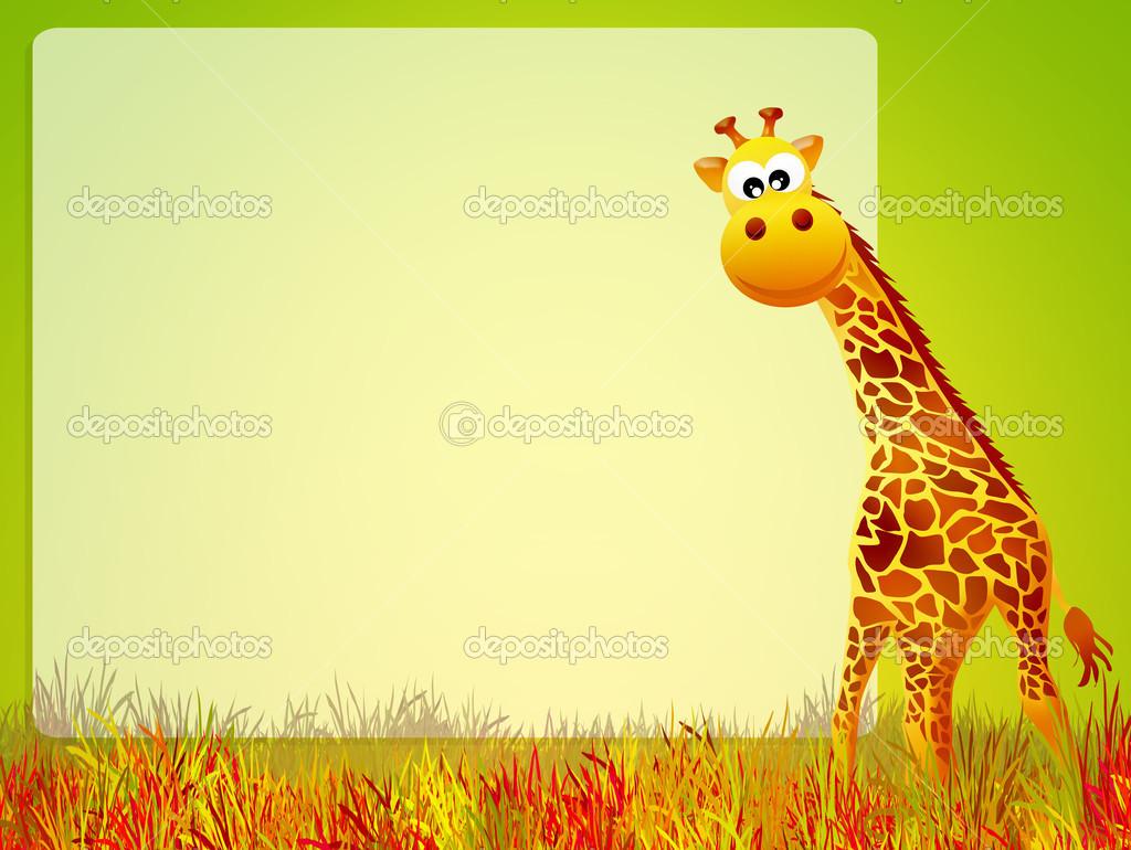 Giraffa cartone animato foto stock adrenalina 39679221 - Cartone animato immagini immagini fantasma immagini ...