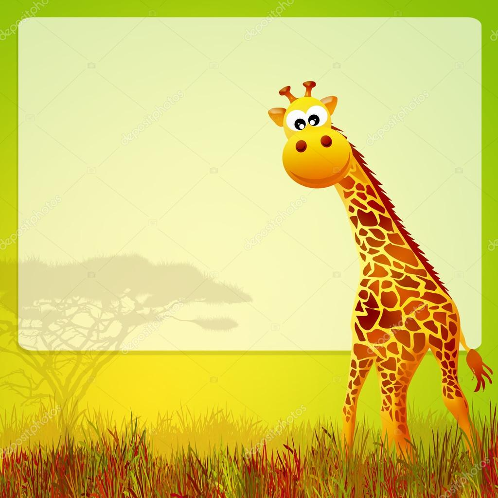 Giraffa cartone animato foto stock adrenalina 39679251 - Cartone animato immagini immagini fantasma immagini ...