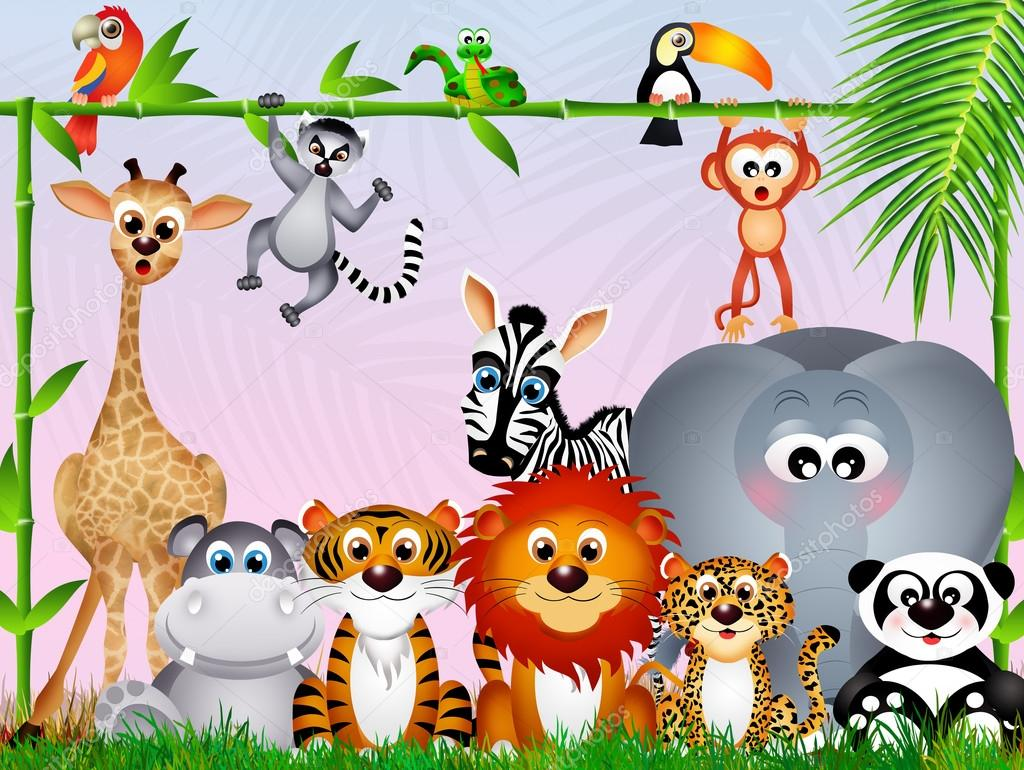 Animali della giungla — foto stock adrenalina