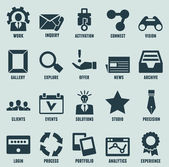 Fotografie sada marketingu Internetu a ikony služeb - část 3