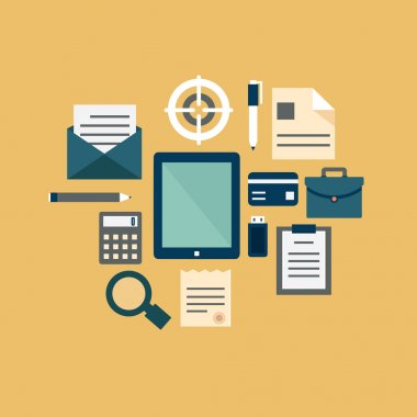 Flat concept of documents for business
