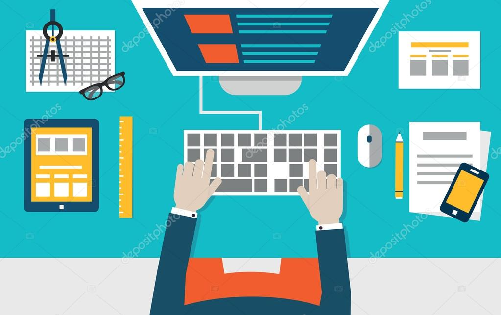 expert web designer with programming