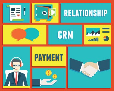 Customer relationship management and payment service