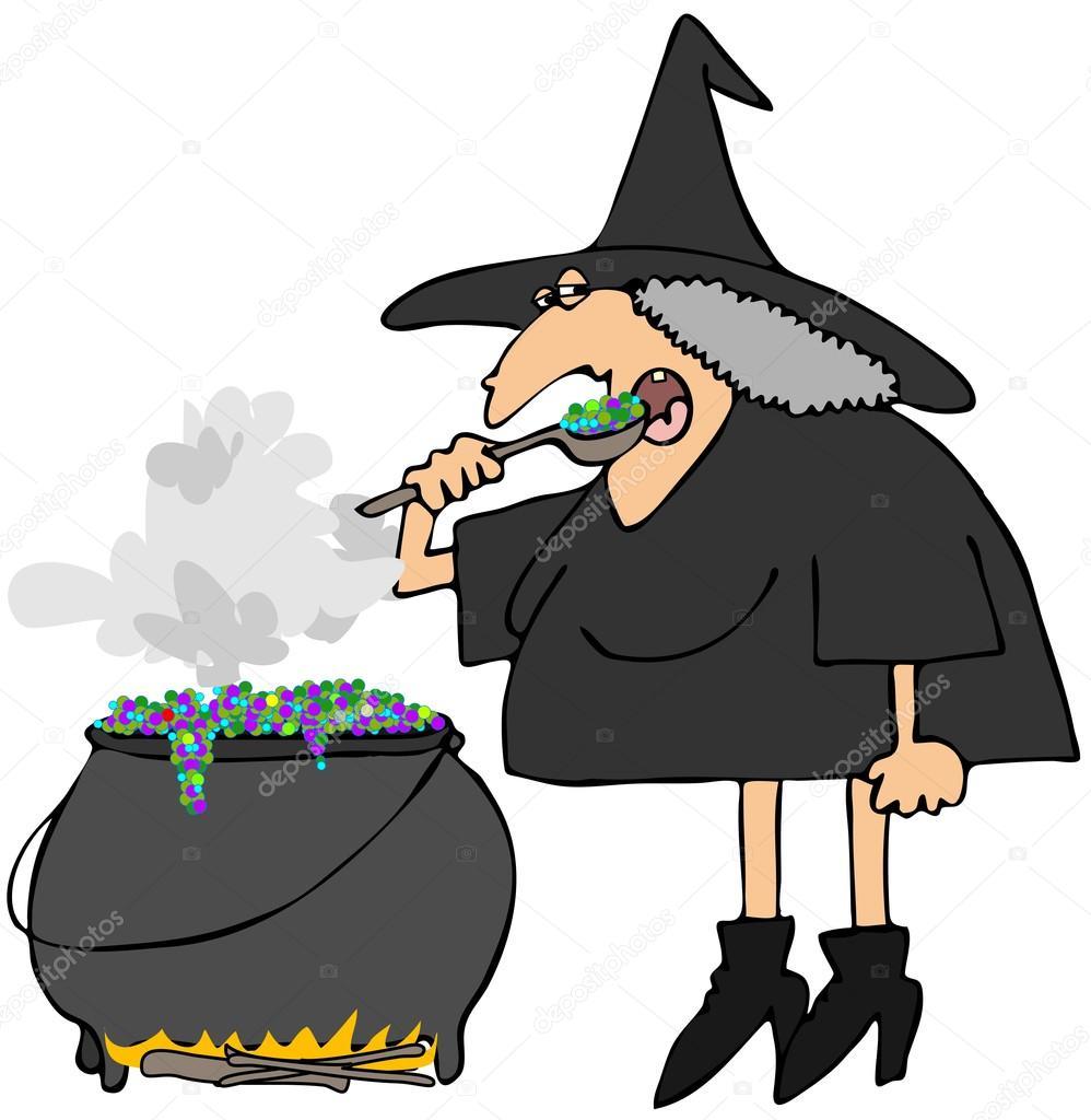 witches cauldron u2014 stock photo caraman 12117603