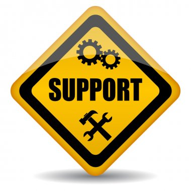 Vector support sign