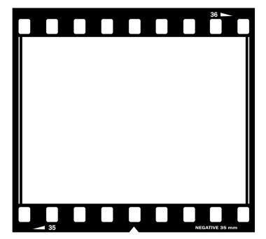 Film frame illustration