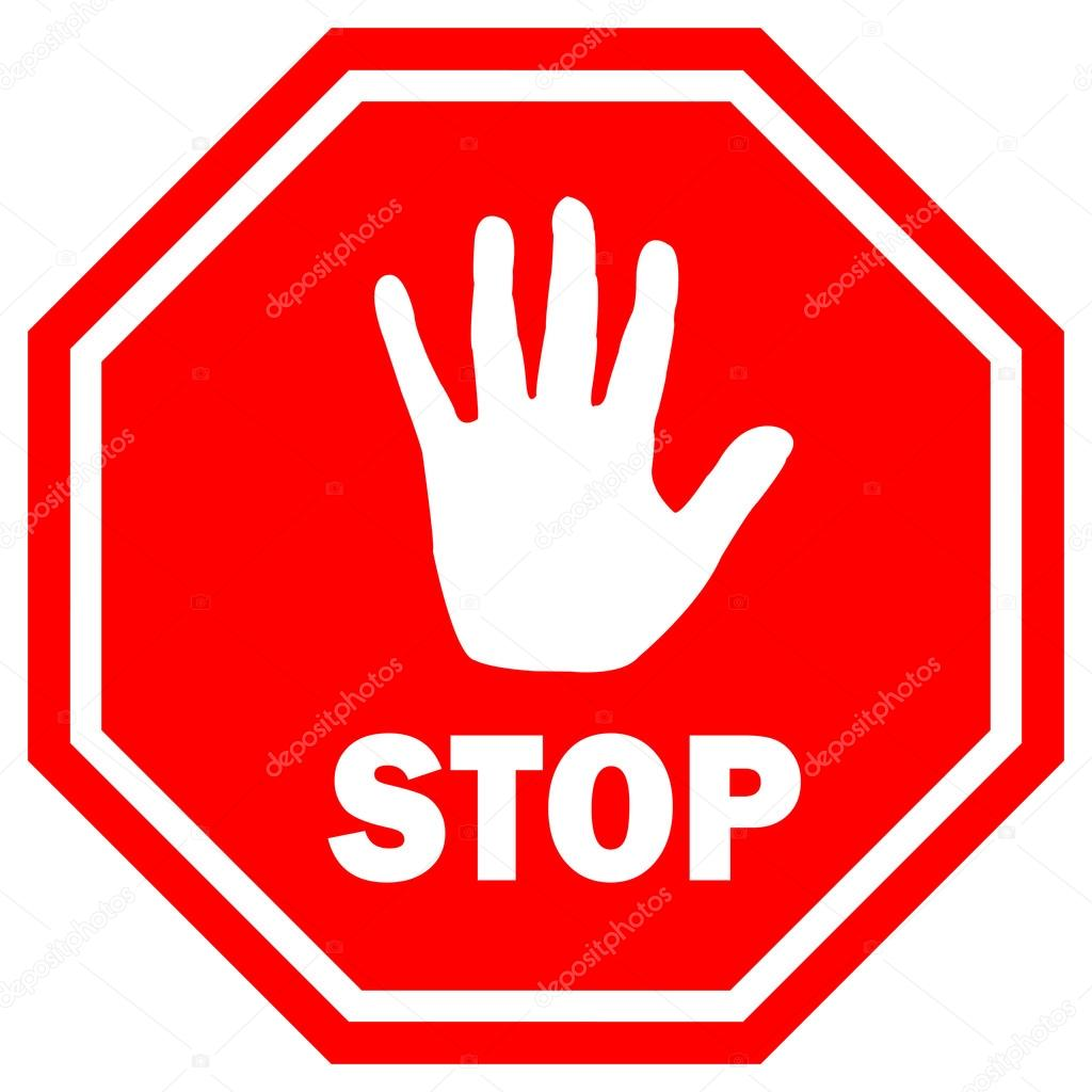 stop sign vector illustration stock vector arcady 14972885 rh depositphotos com stop sign vector eps stop sign vector free