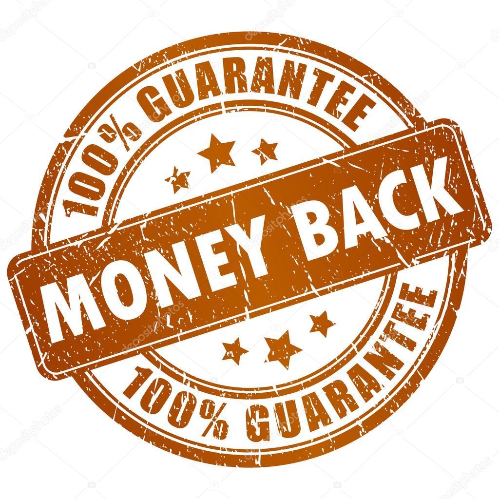 2f589249c3c1 Деньги обратно вектор штамп, изолированные на белом фоне. Изображение денег  для печати — вектор от Arcady — Вектор от Arcady