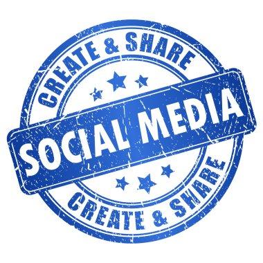Vector social media symbol