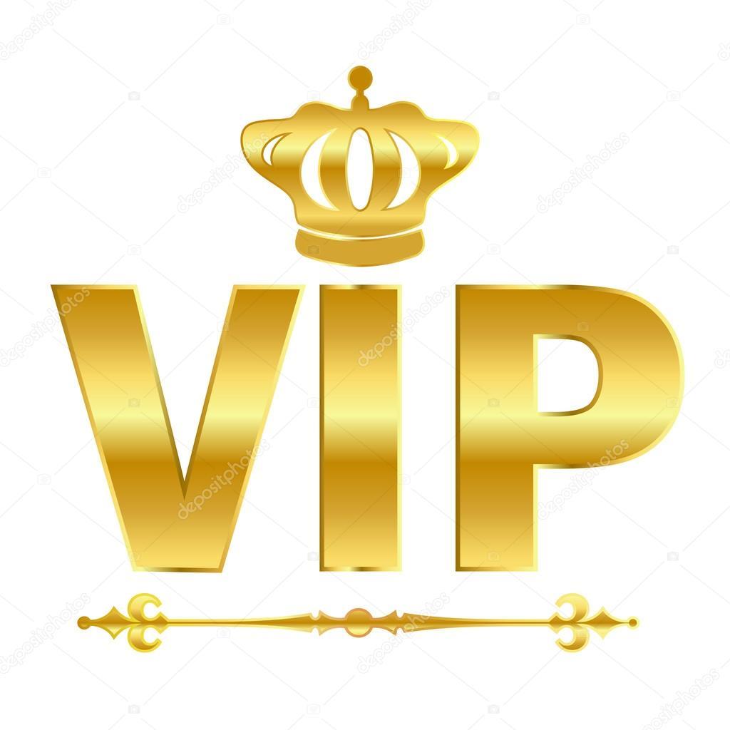 vip vector symbol stock vector arcady 25488889. Black Bedroom Furniture Sets. Home Design Ideas