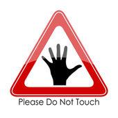 Prosím nedotýkejte