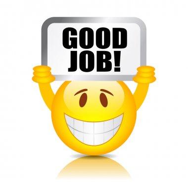Good job smiley