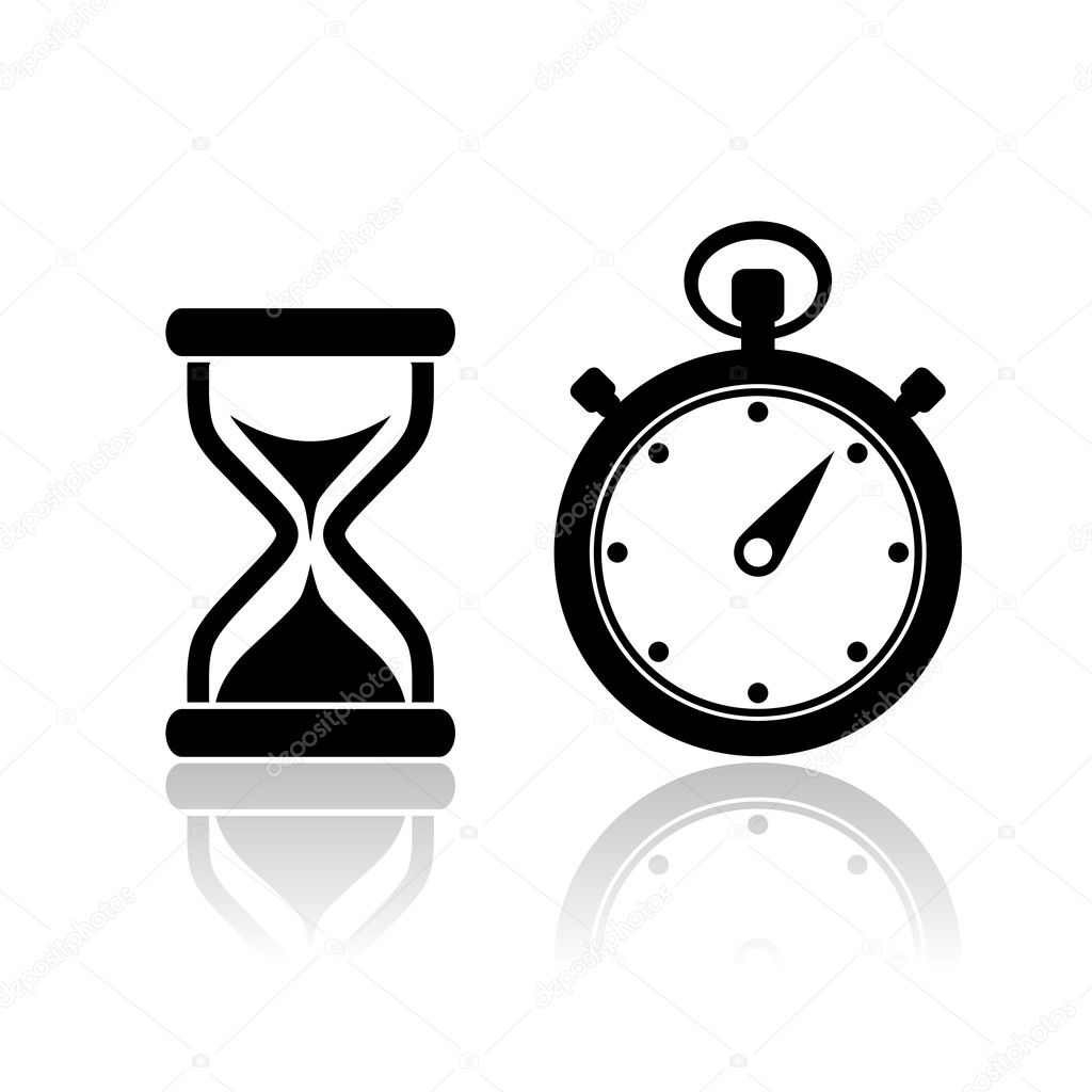 Vector timer icon