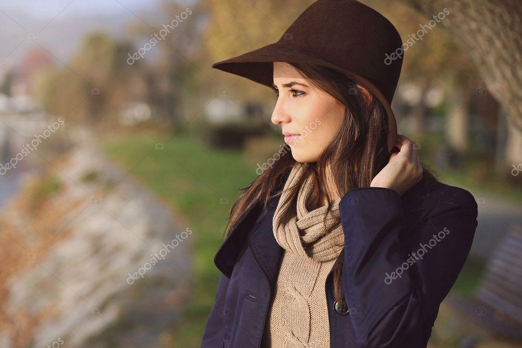 Portrait of an elegant girl