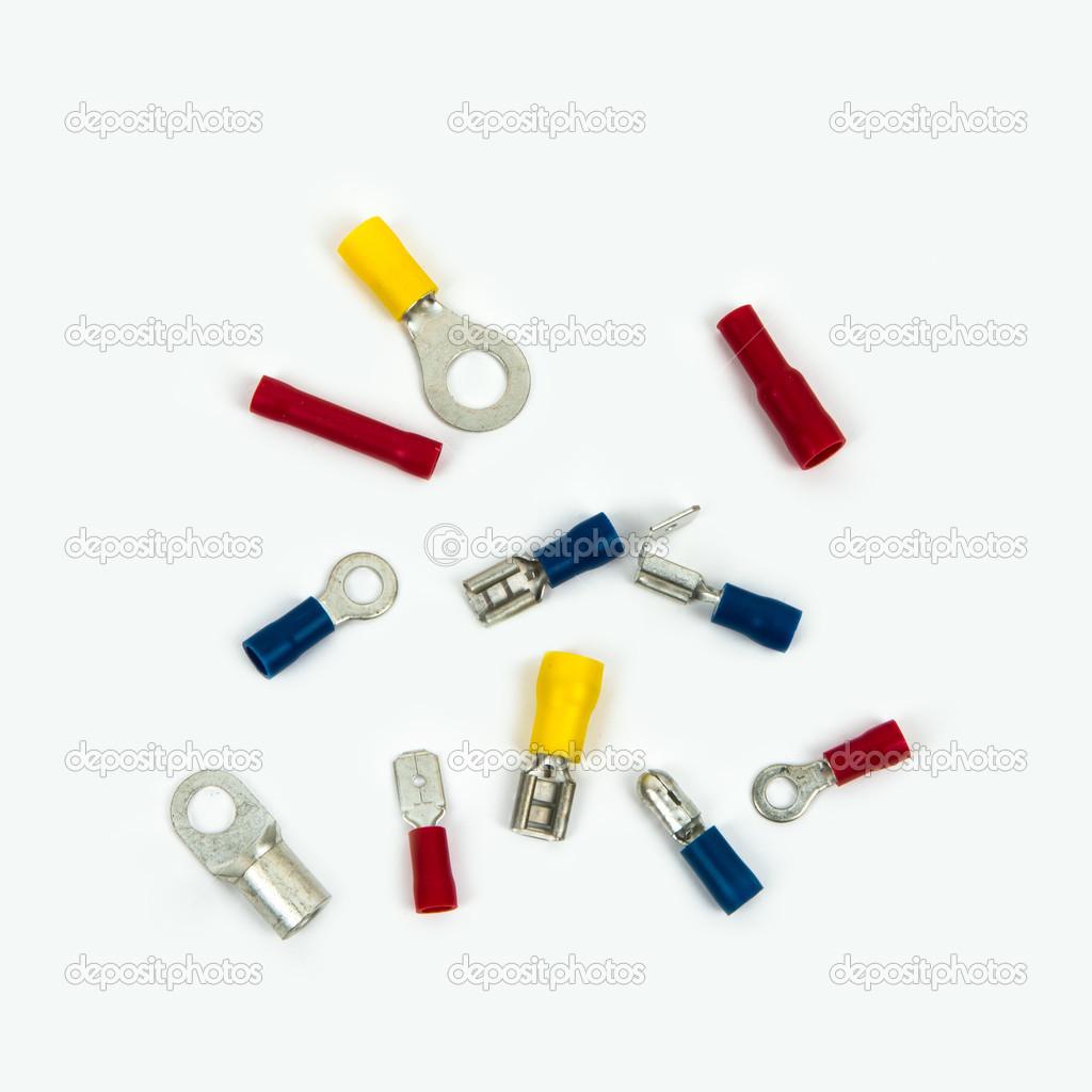 Ring-Klemmen und Kabelverbinder — Stockfoto © Ysign #21749299
