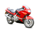 Fotografie motocykl, samostatný