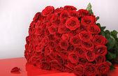 Kytice růží redl
