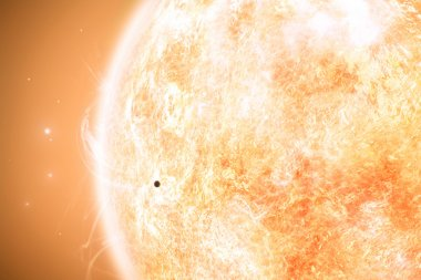 Mercury and Sun