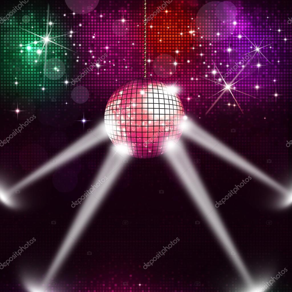 Disco ball music background stock photo alexaldo 45971213 - Bola de discoteca de colores ...