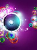 Vícebarevná music funky pozadí