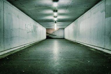 Passionate vintage tunnel
