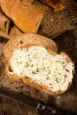 Sýr smetana na chleba
